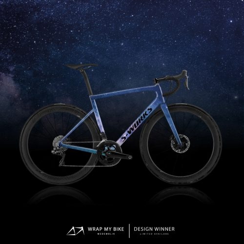Sworks Tarmac SL6 wonderful galaxy design